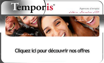De nombreux postes à pourvoir avec Temporis !
