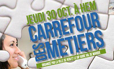 Carrefour des métiers le jeudi 30 octobre à Hem