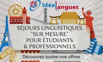 Des séjours linguistiques sur mesure avec Idéalangues