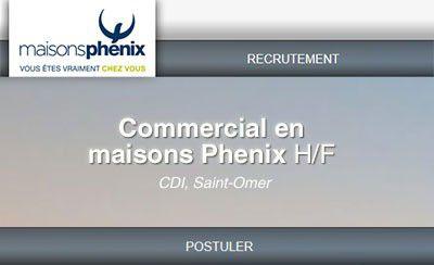 Devenez Commercial(s) en maisons Phenix !