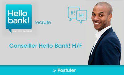 Devenez Conseiller Hello bank ! H/F