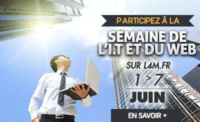 Semaine des Métiers de l'I.T. et du WEB sur L4M.fr