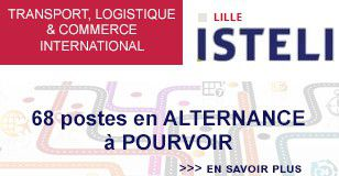 ISTELI, 68 postes en alternance en transport, logistique et commerce international