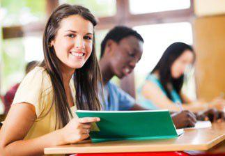 Etudiante en école en commerce